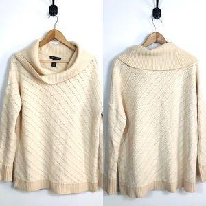 White House Black Market Medium Cowl Neck Sweater